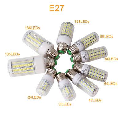 E27 E14 LED MAZORCA Bombilla 45w 30w 25w 20w 15w 12w 7w luz 5730SMD 2