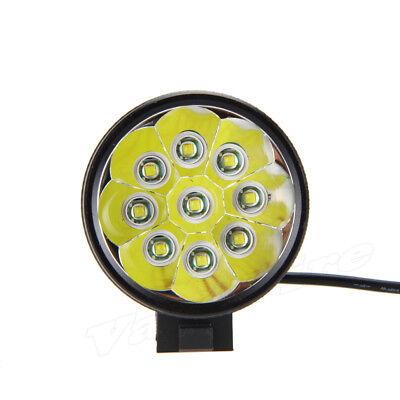 Super Bright 50000LM 9x T6 LED Bike Bicycle MTB Head Light Headlamp+Rear Light 2