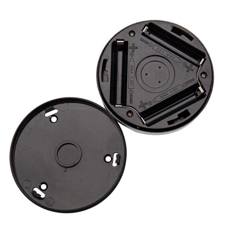 4X 6LED PIR Auto Motion Sensor Infrared Toilet Night Light Cabinet Stair Lamp