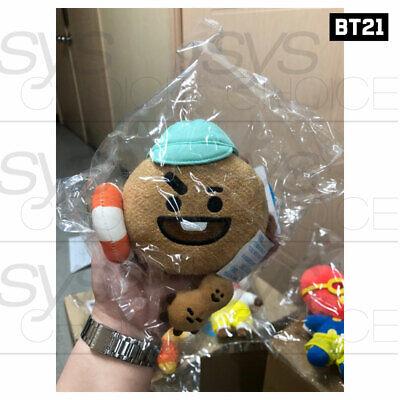 BTS BT21 Official Authentic Goods Von Voyage Summer Doll 15cm 5.9in + Tracking# 9