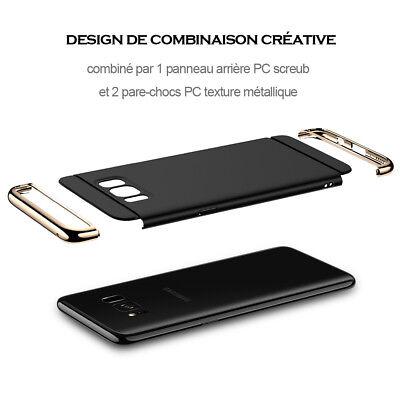 Hybride Housse Coque Samsung S8 S9 Plus S7 S6 Edge A3 A5 A7 A8 J3 J5 J7 Note 8 9