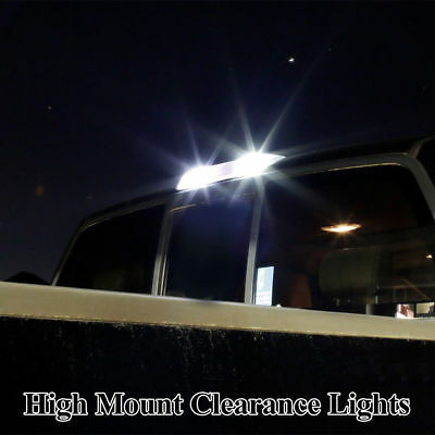 Fit For Ford F150 2015-2018 LED License Plate Backup High Mount Lights Combo Kit