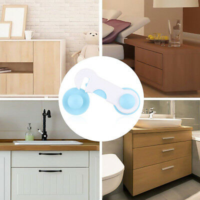 Toddler Baby Lock Proof Cabinet Drawer Fridge Cupboard Door Safety Protective Ac 11