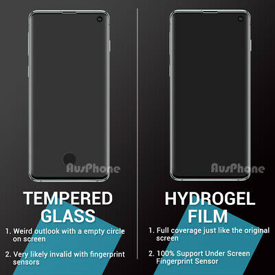 SAMSUNG GALAXY S10 5G PLUS S10e Note 10 Plus HYDROGEL AQUA FLEX Screen Protector 2