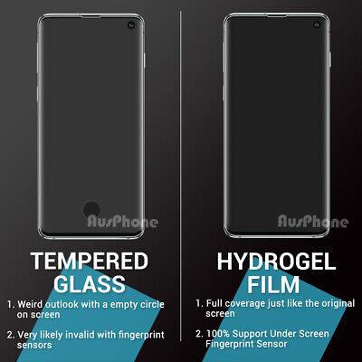 SAMSUNG GALAXY S10 PLUS S10e HYDROGEL AQUA FLEXIBLE Crystal Screen Protector 2