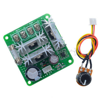 DC 6V-28V/6-90V/12V-36V/12V-40V 3/10/15A Adjuster PWM Motor Speed Control Switch