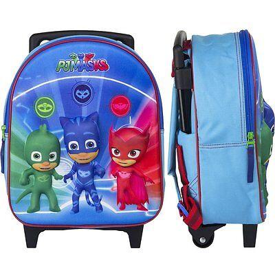 6b8521cfab5cd7 ... PJ Masks Super Pigiamini zainetto zaino Trolley in 3D scuola materna  asilo 2