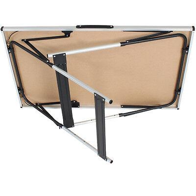 Alu Tapeziertisch Mehrzwecktisch Klapptisch Campingtisch Arbeitstisch 300x60cm