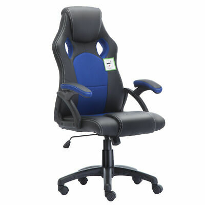 Office Chair Executive Racing Gaming Swivel Pu Leather Sport Computer Desk 9