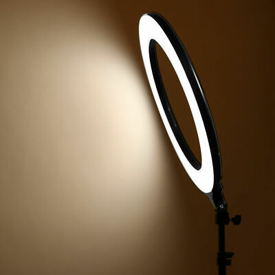 14 Inch LED Ring Light With Stand and Phone Holder Make-up for Camera iPhone UK 11