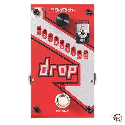 Digitech Drop Polyphonic Drop Tune Pitchshifter True Bypass Guitar Effects Pedal 3
