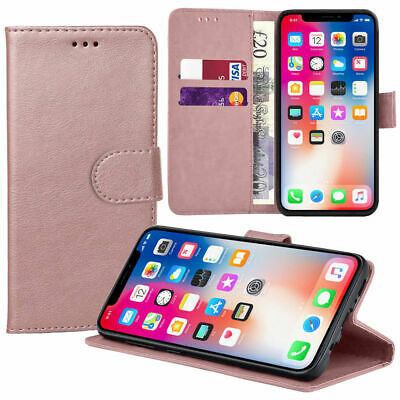 Case for Samsung Galaxy S10 S9 S8 Plus Cover Flip Wallet Leather Magnetic Luxury 6