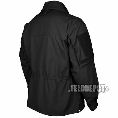 ORIGINAL TACTICAL JACKE PARKA LEO KÖHLER SCHWARZ OUTDOOR PAINTBALL AIRSOFT NATO