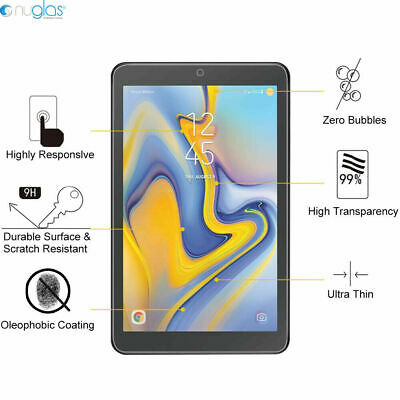 "Genuine Nuglas Tempered Glass Screen Protector for Samsung Galaxy Tab A 8.0""2018 9"