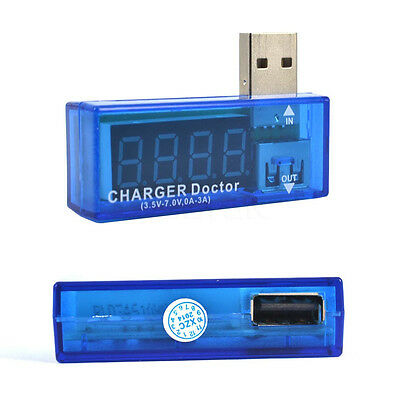 Mini Digital Display USB Power Voltage Meter Tester Detector Charger 2