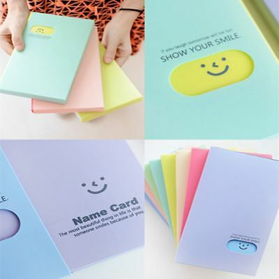 120 Pockets Collection Photocard Book Lomo Card Holder Photo Album Card Stock 4