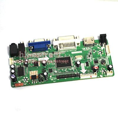 HDMI+DVI+VGA LCD Controller Board for N154C1-L02 N154C3-L01 CLAA154WP05A @USA