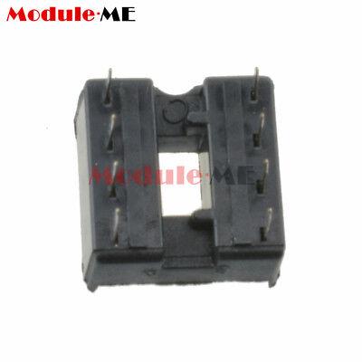 50/100PCS 8pin DIP IC Socket Adaptor Solder Type Socket Pitch Dual Wipe UK 3