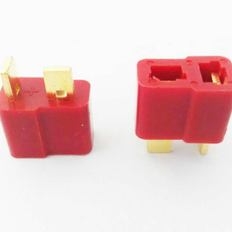 Ultra T Connectors Plug Deans Style For RC LiPo Battery 10 Pairs Male/Female 3