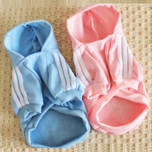 Cute Medium M Pink Adidog Hoodies For Male Small Dogs Outfits Apparel Cheap US 8