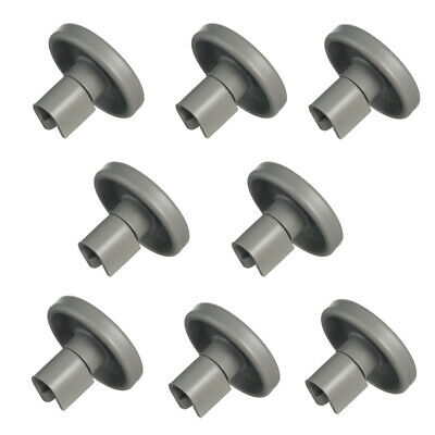 8 Korbrollen Rollen Räder Geschirrspüler Ersatz für Progress PV1535 PV1540 40mm
