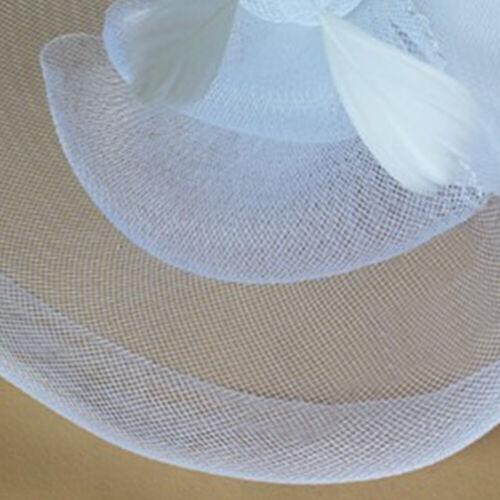 Large Fascinator Headband Hat Weddings Ladies Day Races Royal Ascot Equip 4