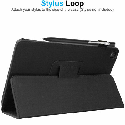 """for Samsung Galaxy Tab A 10.1"""" 2019 SM-T510 T515 Leather Flip Case Stand Cover 8"""