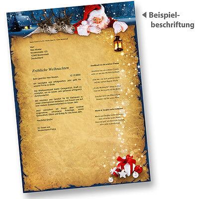 Weihnachtsbriefpapier Nordpol Express Briefpapier Für Weihnachten
