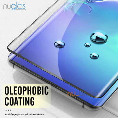 NUGLAS 3D Tempered Glass Screen Protector For Samsung Galaxy S10e S10 S10 Plus 4