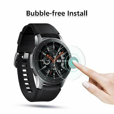 3xPACK Genuine Samsung Galaxy Watch 42/46mm 9H Tempered Glass Screen Protector 10