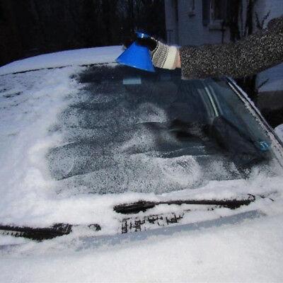 2 X Auto Magic Scrape Ein Runder Eiskratzer Windshield Snow Scraper Eiskratzer