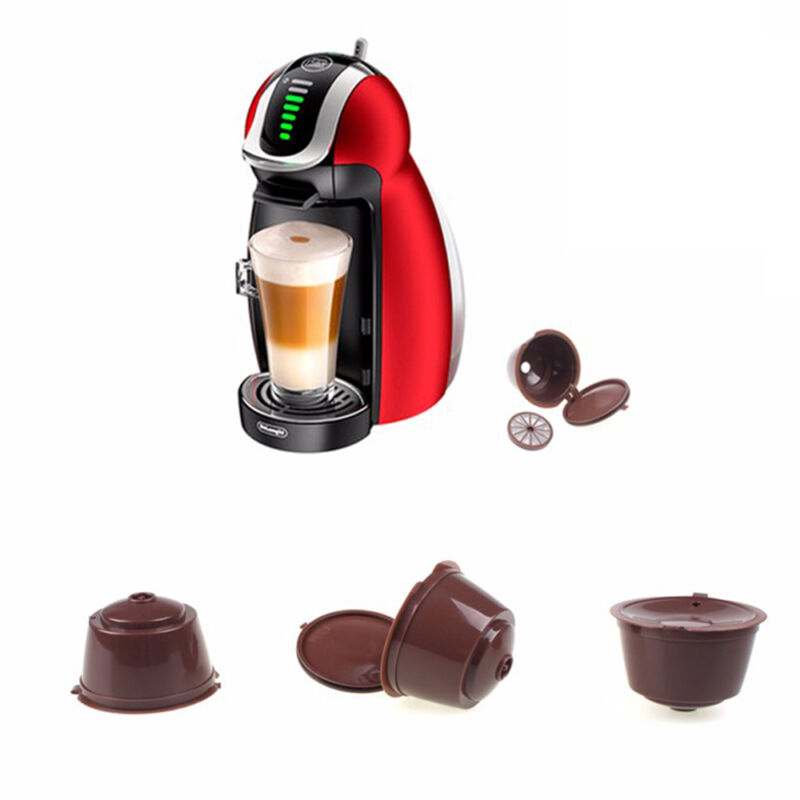 HOT Coffee Capsule Pods Cup for Nescafe Dolce Gusto Machine Refillable K Cups CN 2