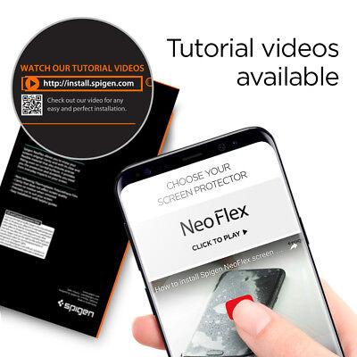 Galaxy S9 / S9 Plus Film Screen Protector [Neo Flex] Spigen® Film Shield [2PK] 6