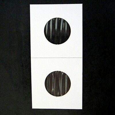 (5000) Quarter Size 2x2 Mylar Cardboard Coin Flips for Storage   25 Cent Bulk 2