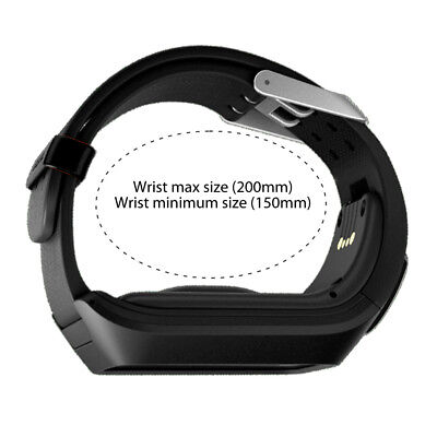 Replacement Silicone Band Strap for TomTom Runner 2 / 3 Spark/3 Sport GPS Watch 4