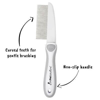AllPetSolutions Dog Puppy Cat Pet Grooming - Comb, Slicker Brush, Dematting Tool 10