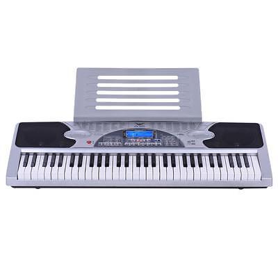 Piano Combo Stand + 61 Keys Electronic keyboard/Electric Piano/Power Adaptor 5