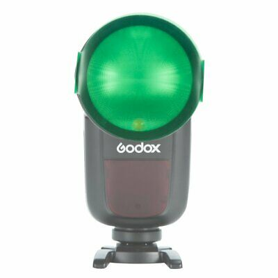 20PCS Color Filters For Godox V1 TTL Round Head Portable Flash Speedlite 2