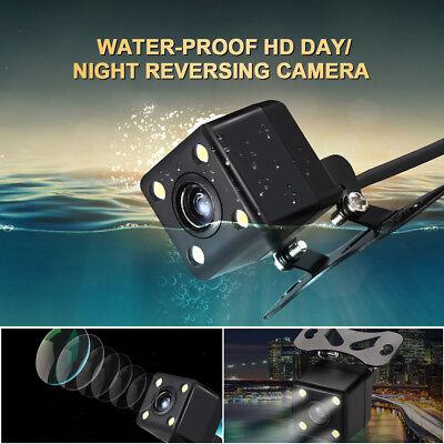 """170° HD Caméra de recul IR Arrière vision nocturne étanche + 4.3"""" Ecran TFT LCD 6"""