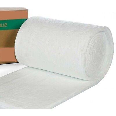 Ceramic Fibre Blanket Alternative BODY SOLUBLE 25mm 50mm 96kgm3 128kgm3 DENSITY