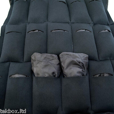 Komodo Weighted Weight Vest Jacket Adjustable Strength Training Running Gym Fit