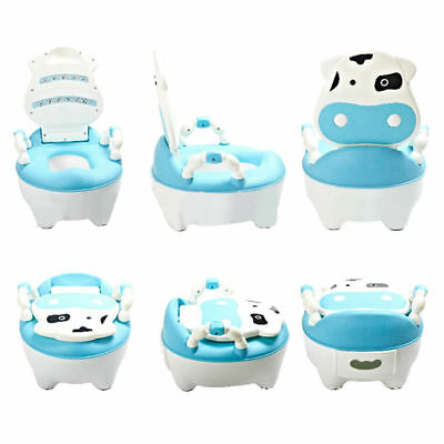Training Potty Trainer Safety Kids Baby Toddler Toilet Cute Cartoon Seat Chair 4