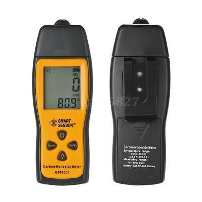SMART SENSOR Handheld LCD Carbon Monoxide Meter CO Tester Monitor Detector Gauge 7