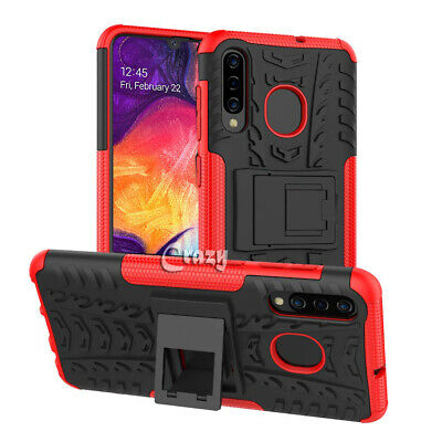 Samsung Galaxy A20 A30 A50 A70 Heavy Duty Shockproof Rugged Case Bumper Cover 5