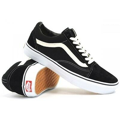 scarpe vans unisex nere