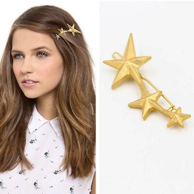Women's Girls Geometric Metal Hair Clips Barrette Slide Grips Hair Clip Hairpins 9