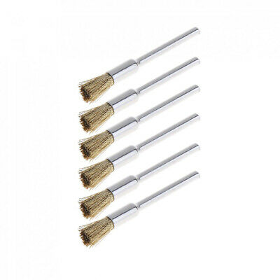 36pcs Wire Steel Brass Brushes Polishing Brush Wheels Set for Dremel Rotary Tool 6