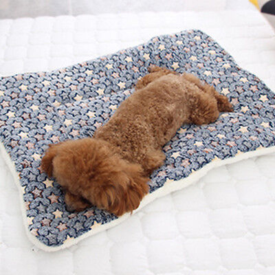 Dog Cat Puppy Pet Plush Blanket Mat Warm Sleeping Soft Bed Blankets Supplies 11