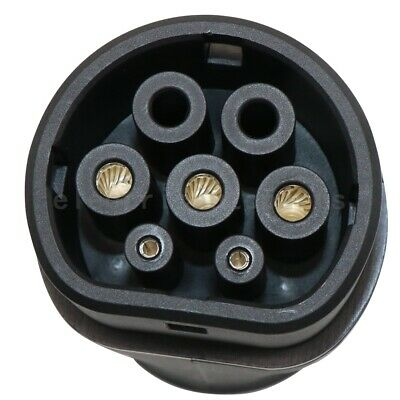 Electric Vehicle Car Charger SAE J1772 32A 240V Connector Socket Charging Plug 7
