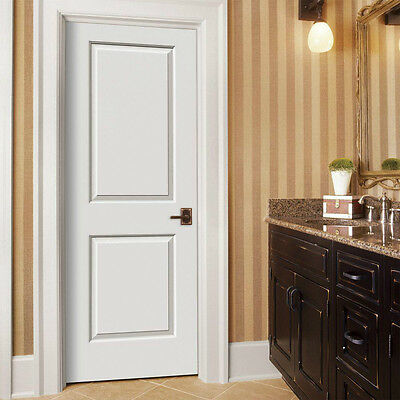3 of 11 Cambridge 2 Panel Square Molded Primed Smooth Solid Core Wood Composite Doors & CAMBRIDGE 2 PANEL Square Molded Primed Smooth Solid Core Wood ...